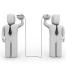 In vielen Unternehmen klappt die Kommunikation zwischen den Abteilungen nicht.