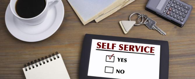 Erfolg mit Self-Service, ja!