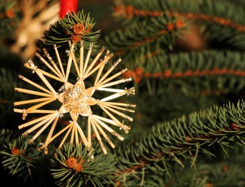 Ein Strohstern macht noch keinen Weihnachtsbaum