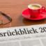 Zeitung auf Schreibtisch - Jahresrückblick 2017 (c) Fotolia Zerbor