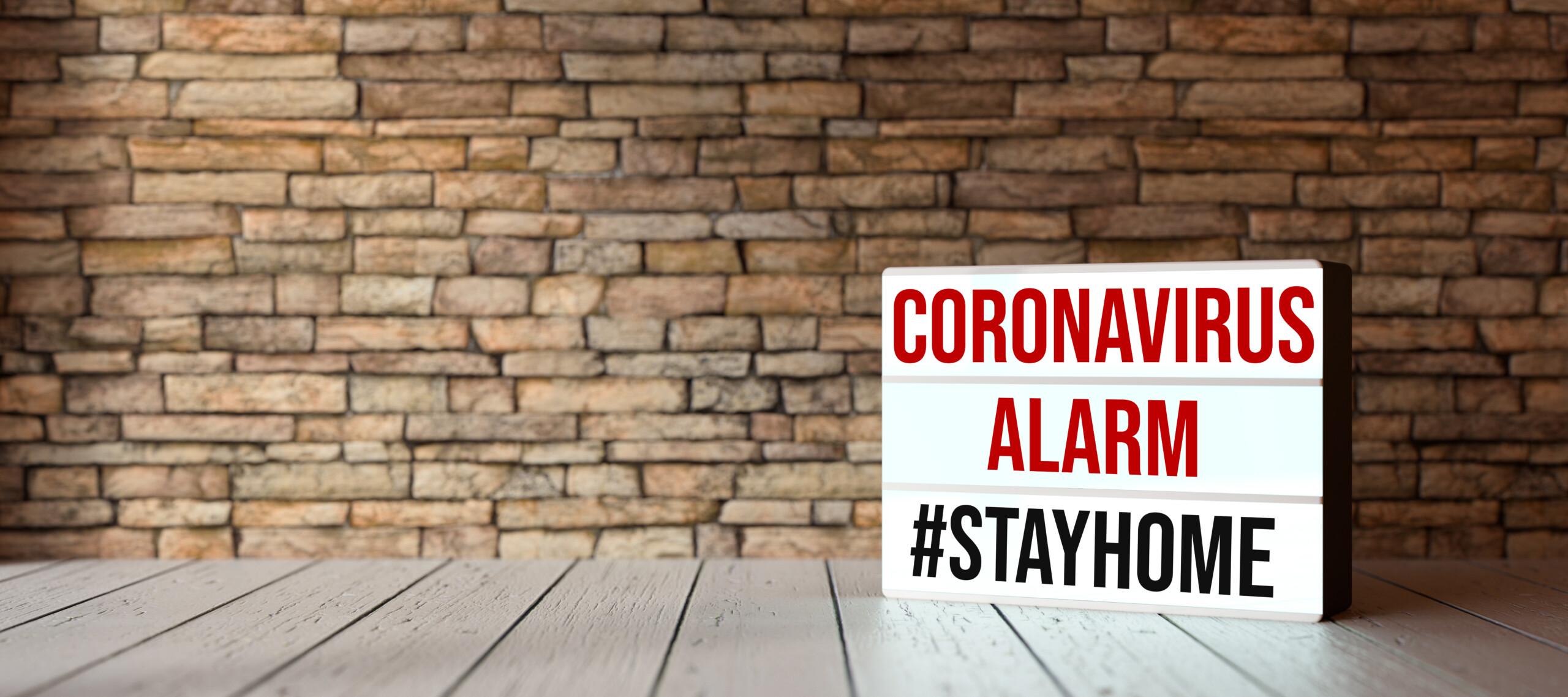 Coronavirus-Alarm
