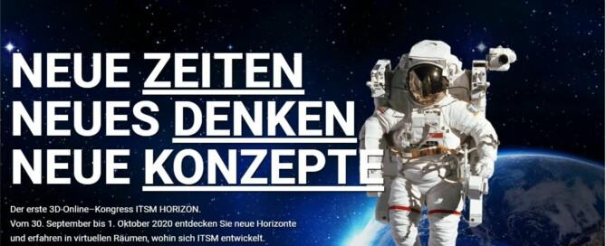 Webseite ITSM Horizon 2020