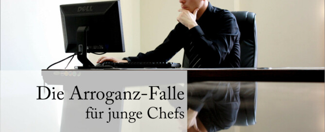 Dass viele junge Manager in die Arrongaz-Falle tappen, ist nicht nur ihre alleinige Schuld.