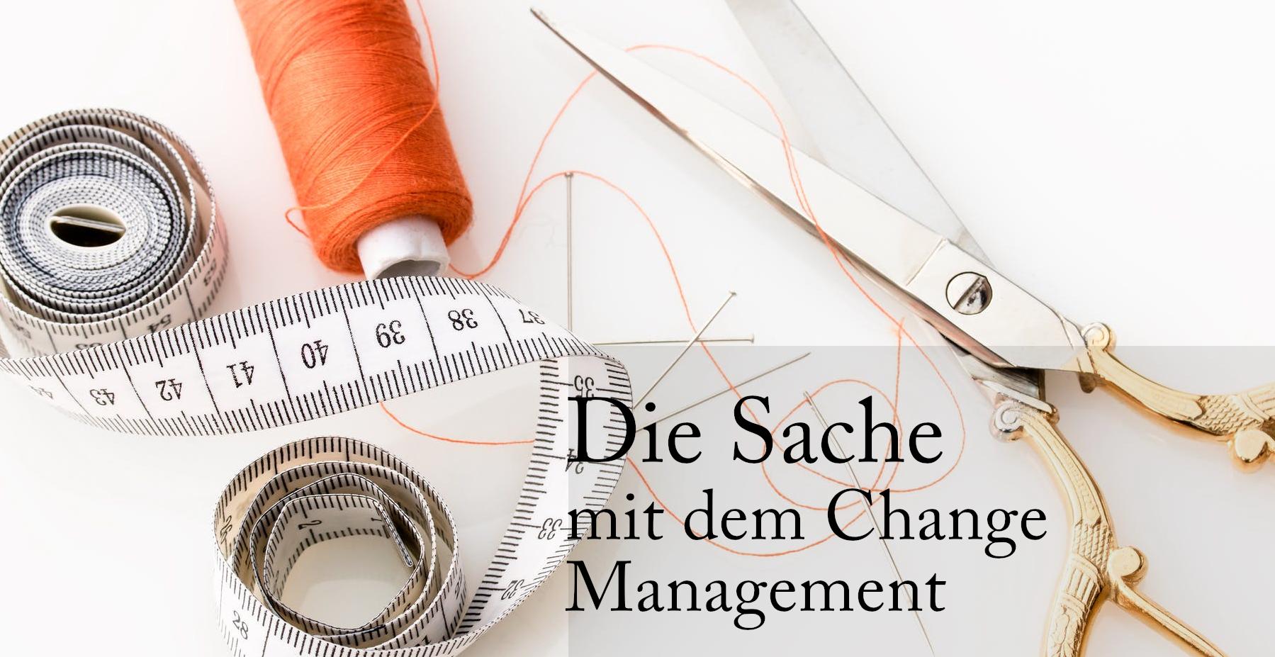 Change Management hängt von vielen Faktoren ab, die wir gar nicht im Blick haben. Bild: Pexels.com