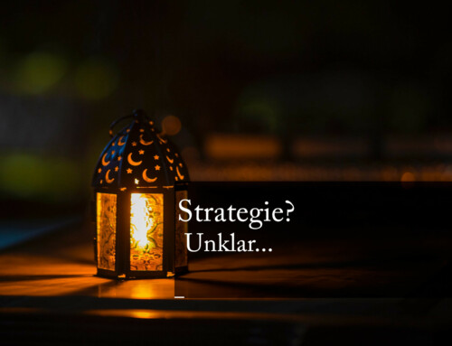 Strategie? Unklar…