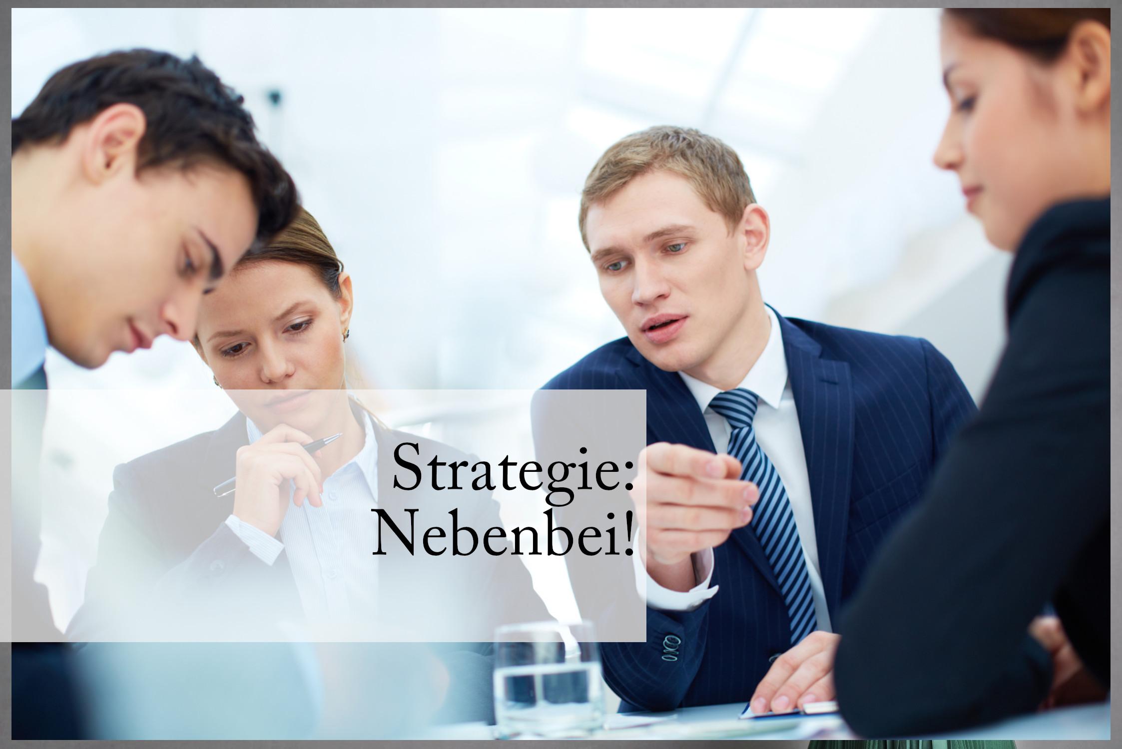 wer Strategie nebenbei macht, übersieht oft wichtige Informationen